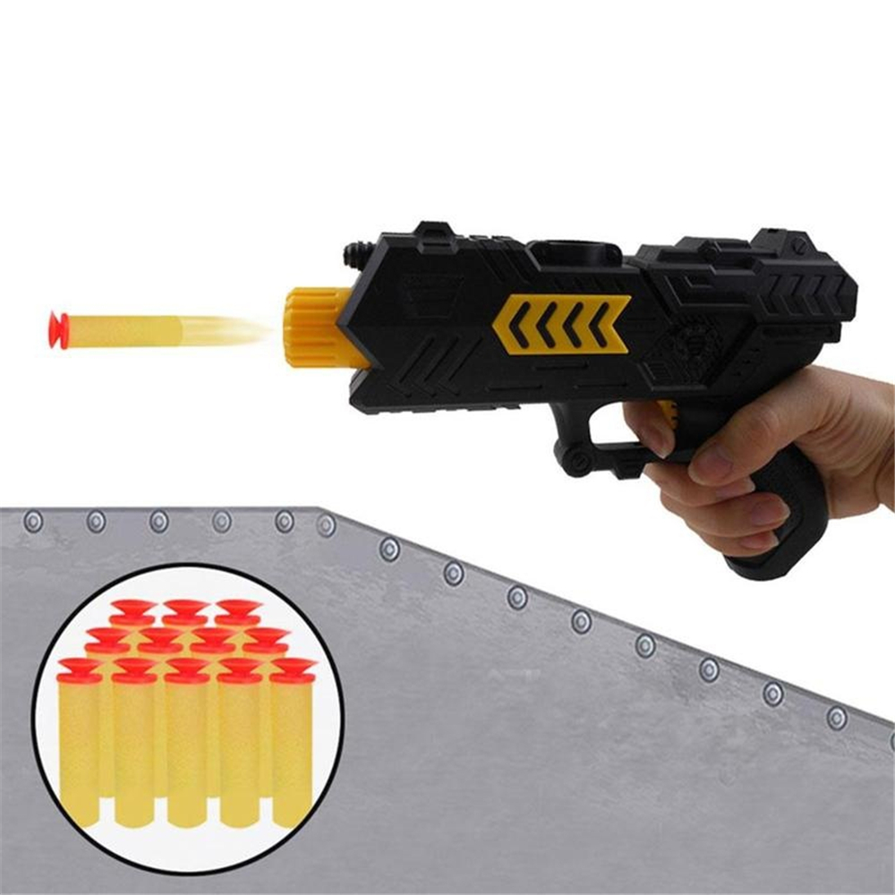 Simulation 2 in 1 Soft Bullet Shooter Water Ball Toy Gun