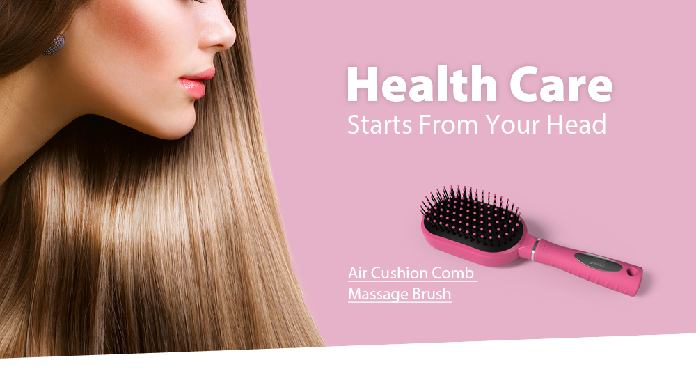 Air Cushion Comb Massage Brush with Detachable Design