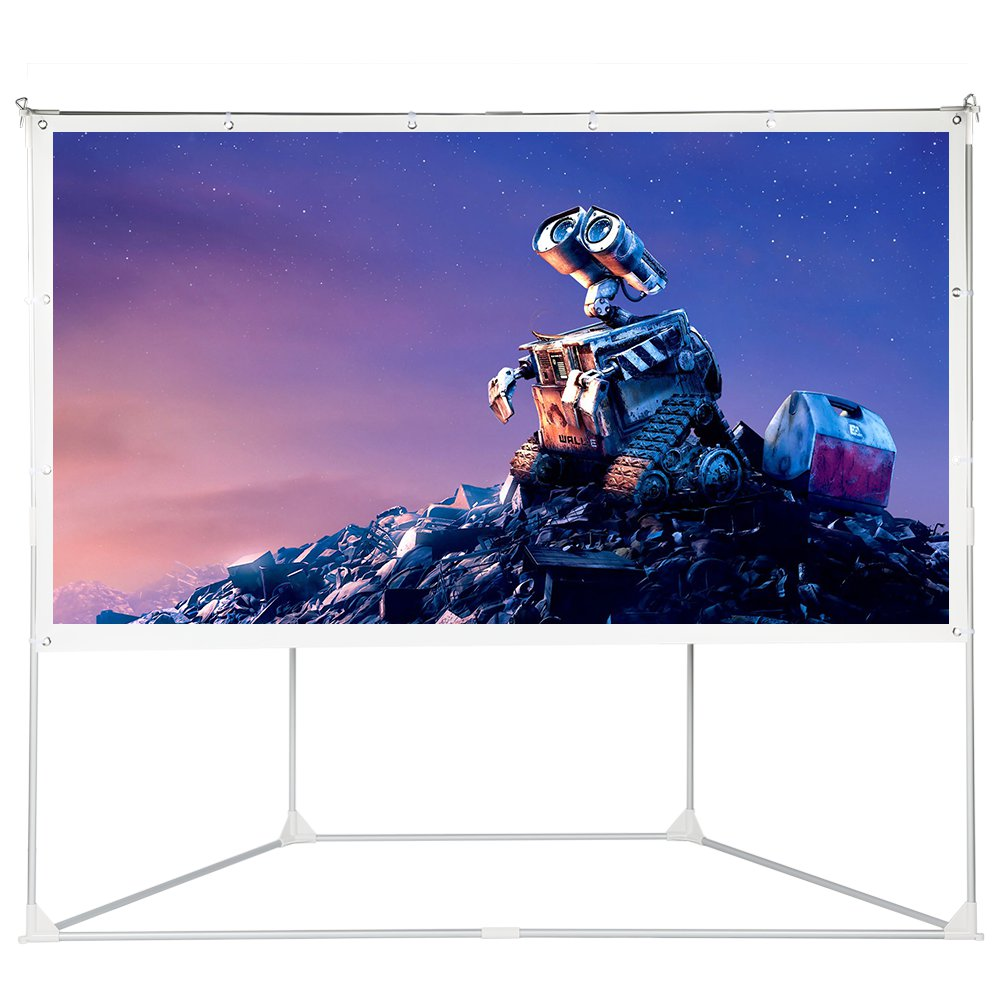 Houzetek Portable Outdoor Projection Screen