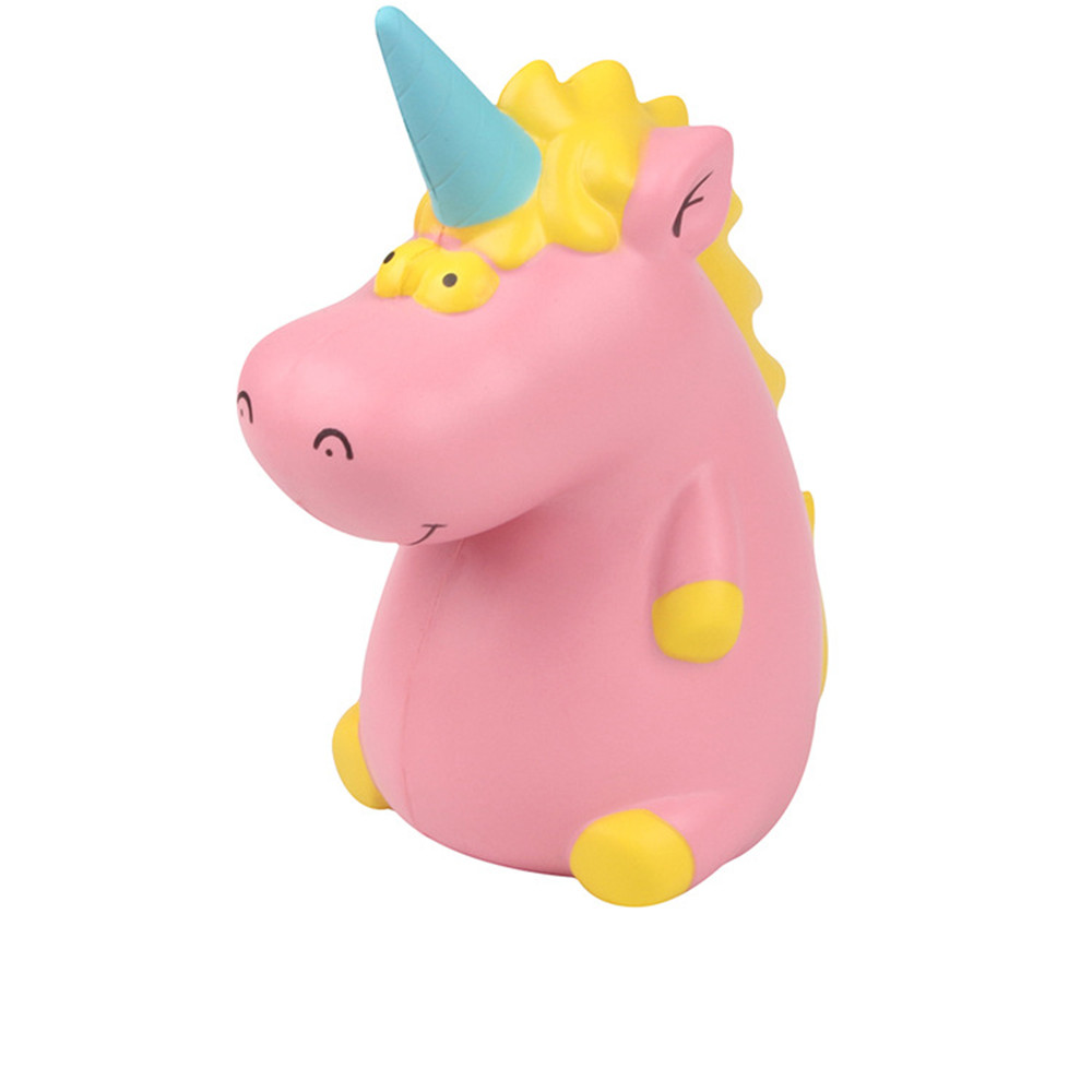 New Jumbo Squishy PU Slow Springback Unicorn Hipotamus Toy