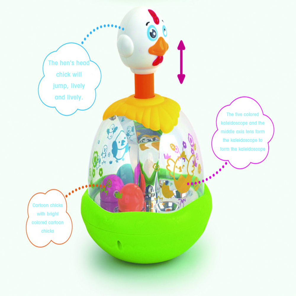 Huile Chicken Jumping Toy