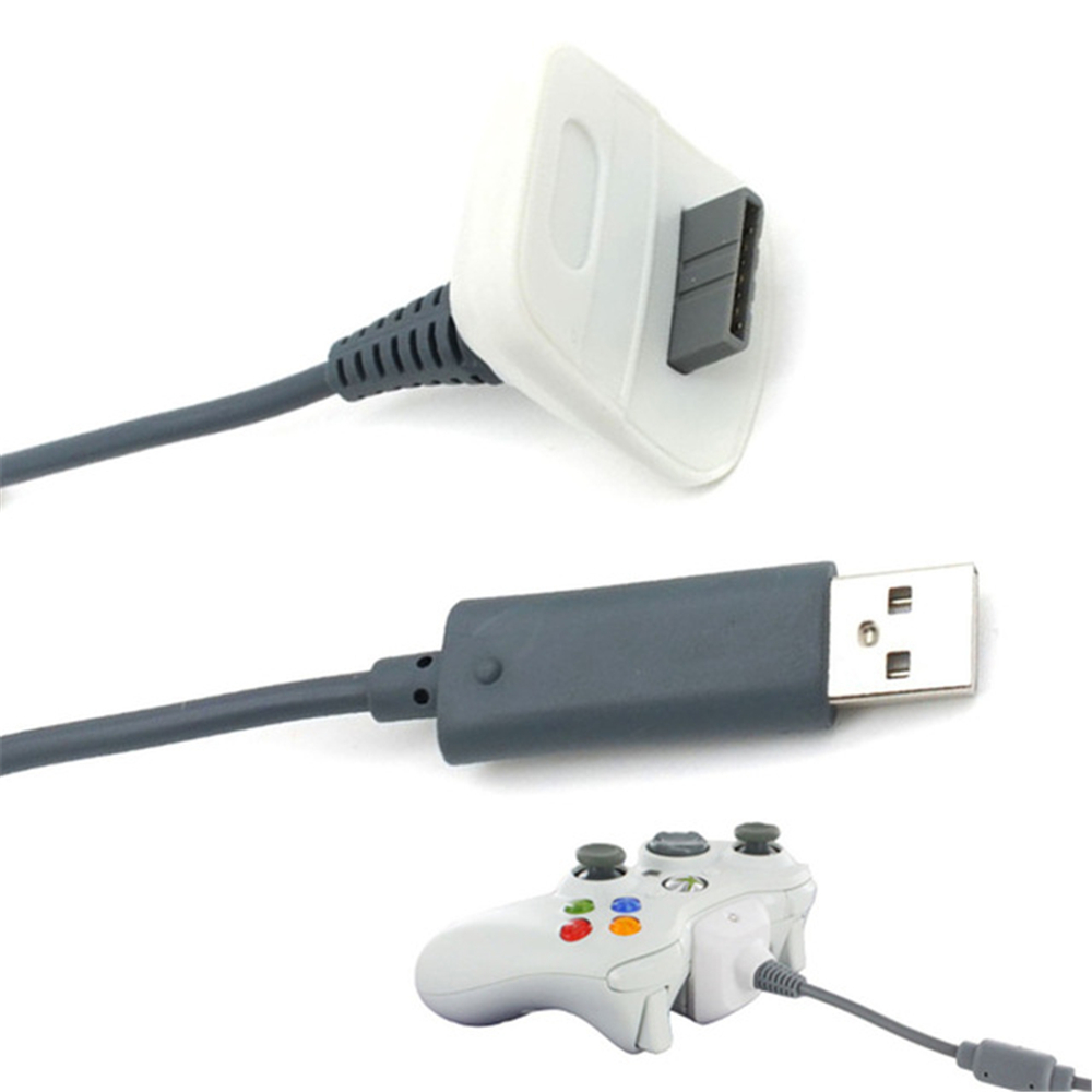 USB Charger Play Charging Cable Cord for Xbox 360 Wireless Controller
