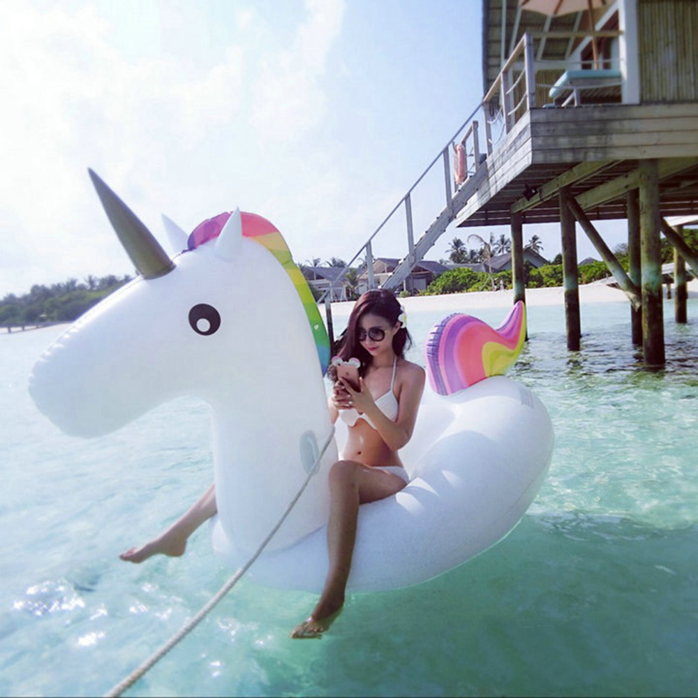 Giant Unicorn Inflatable Patch Swimming Pool Toy
