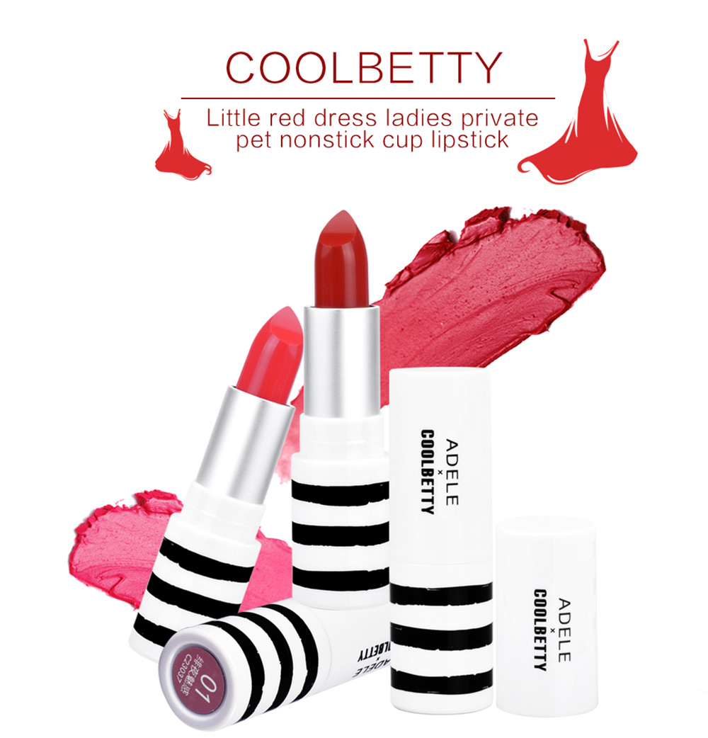COOLBETTY C23037 Litted Red Dress Ladies Private Pet Nonstick Cup Lipstick