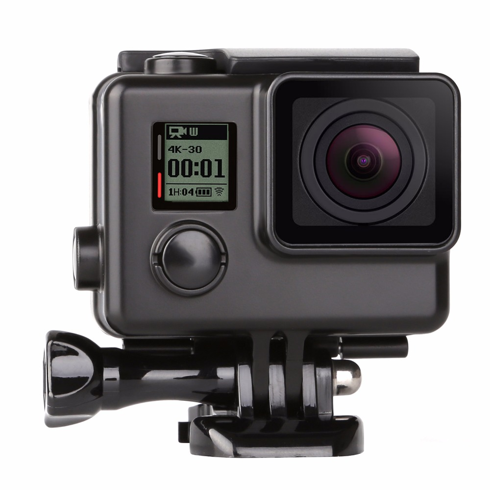 IMCROWN Waterproof Protective Case for GoPro MAX,Replacement Waterproof Case with Two Lenses 360-degree Panoramic Camera Accessories Frame Cover Shell