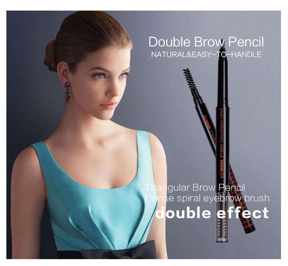 COOLBETTY C38013 Double Natural and Easy to Handle Eyebrow Pencil