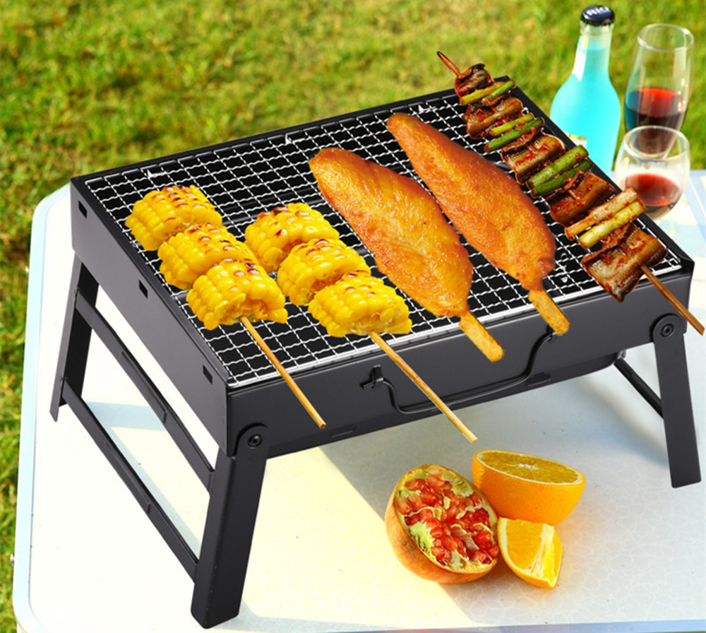 Outdoor Folding Portable Barbecue Grill Tool