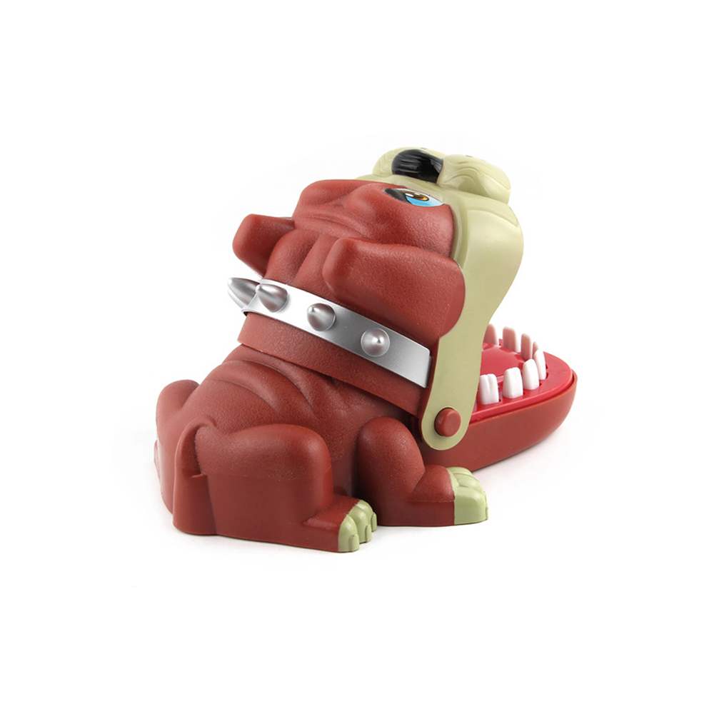 New Strange Trick Toys Board Bulldog Biting Game