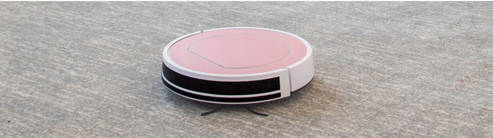 ILIFE V7s Plus Smart Robotic Vacuum Cleaner Remote Control Floor Cleaning Robot- Rose Gold