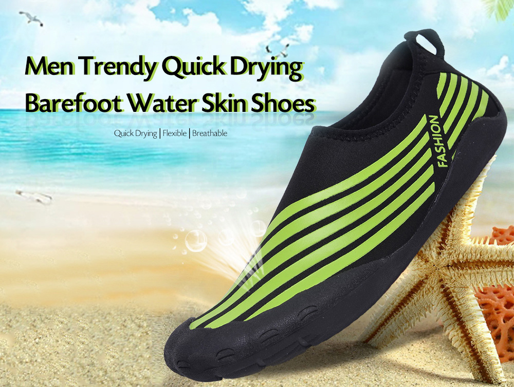 Men Quick Drying Barefoot Water Skin Shoes for Beach Swimming Yoga