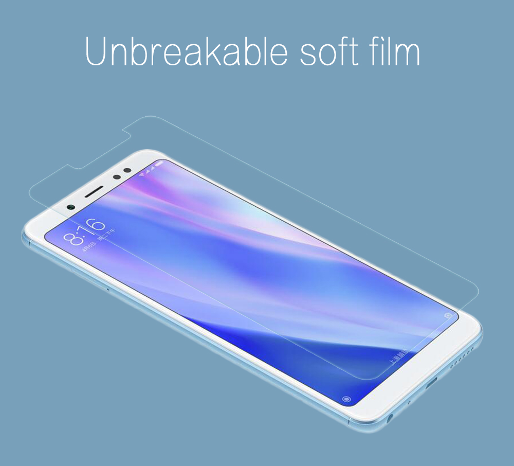 Explosion-Proof Protective HD Film for Xiaomi Redmi Note 5- Transparent