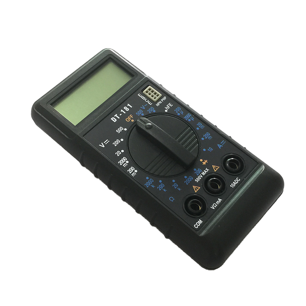 DT181 LCD Handheld Digital Multimeter Using for Home