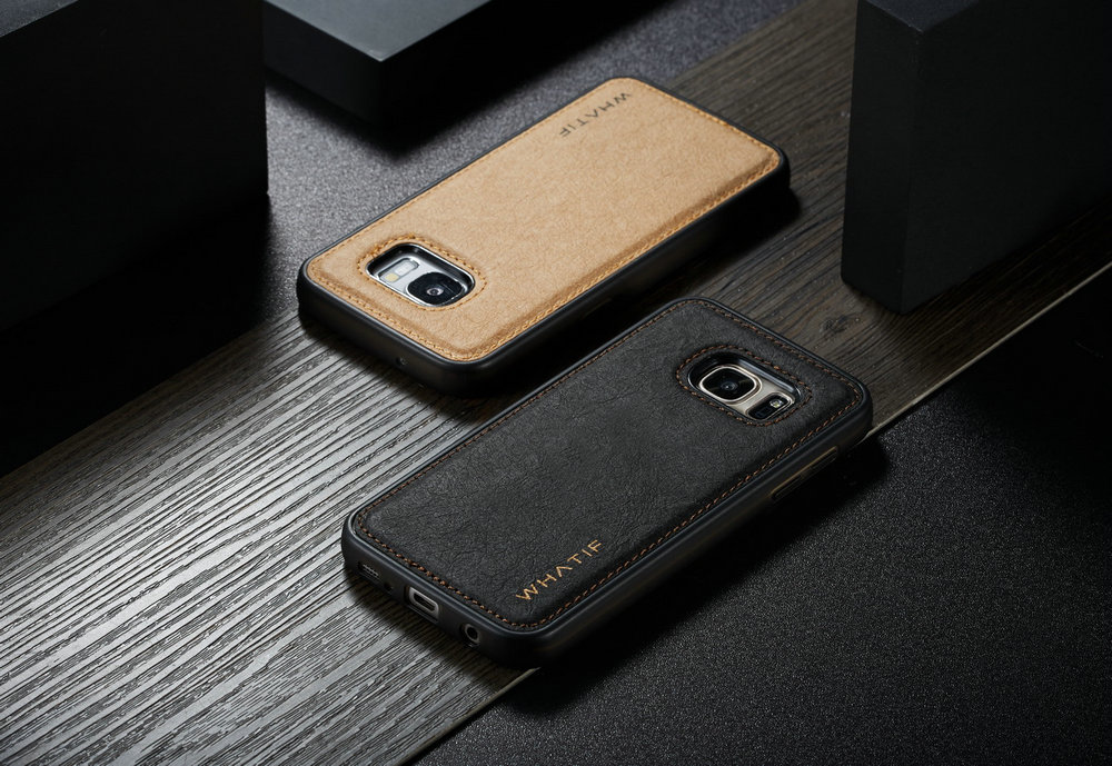 WHATIF for Samsung Galaxy S7 Simple Design Personality DIY Protective Phone Case