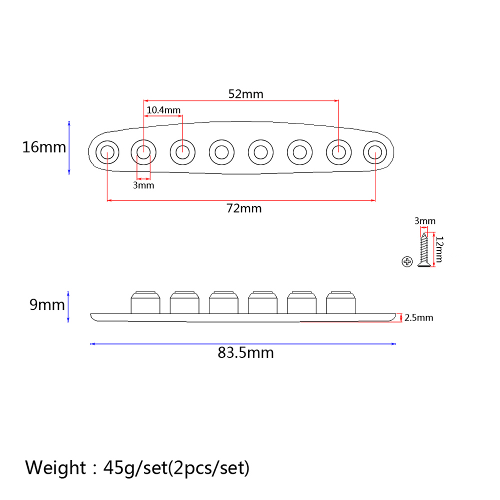 Guitar Parts Instead String Mounting Ferrules Silver 929 Free Diagram Of Guess You Like