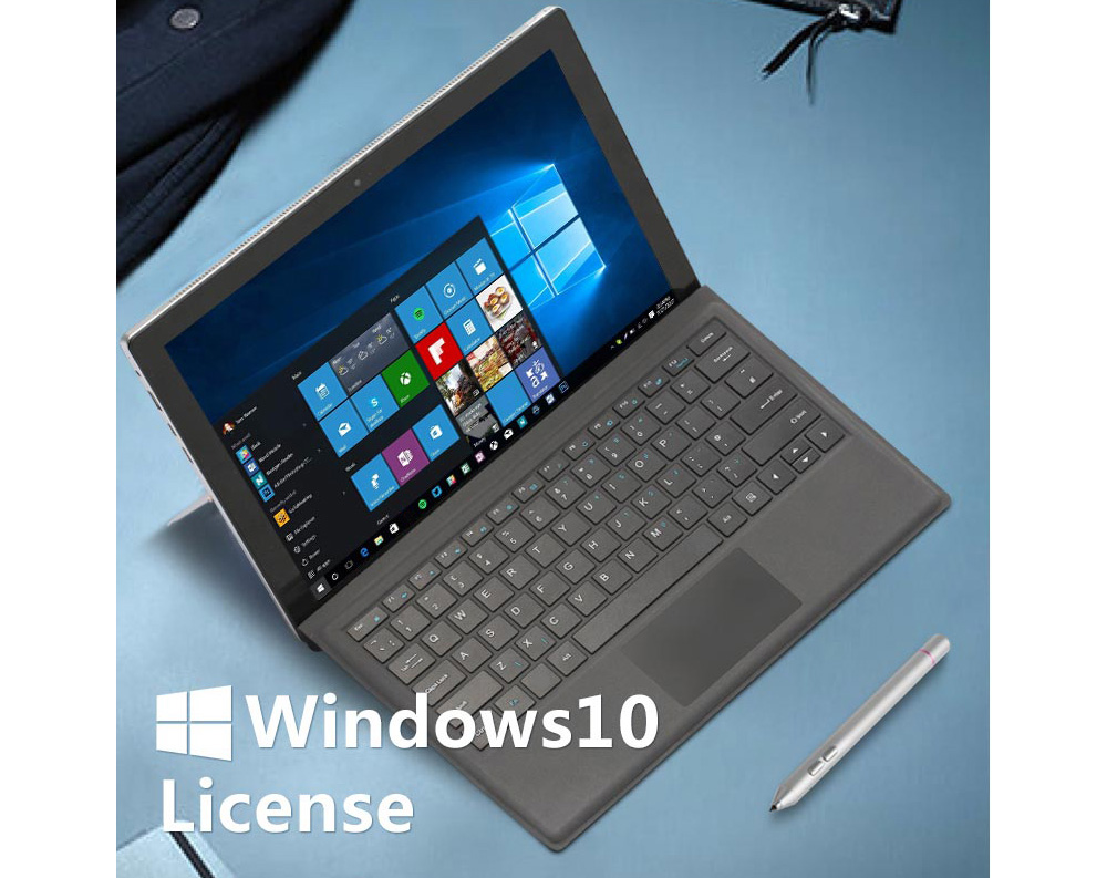 VOYO VBOOK I7 Plus 2 en 1 Tablet PC 12,6 pouces Windows 10 Français Accueil Version Intel Core i7-7500U Dual Core 2,7 GHz 8 Go de RAM 256 Go SSD double WiFi double caméras Type-C HDMI