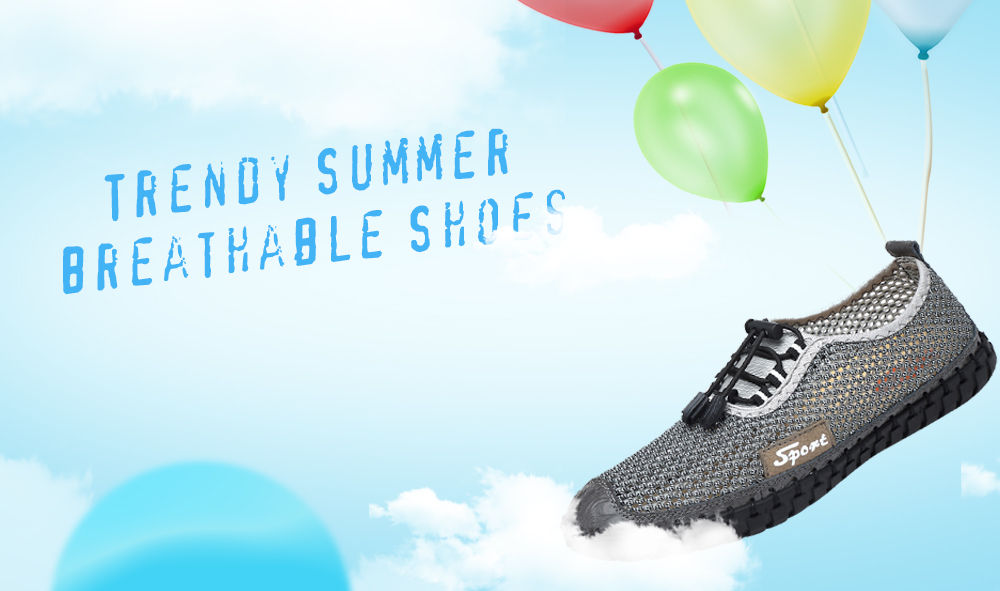Trendy Summer Breathable Shoes for Men