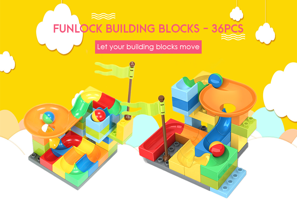 FUNLOCK F4108 Star Travel Slide Building Blocks 36pcs 2018 Review And Coupon Code