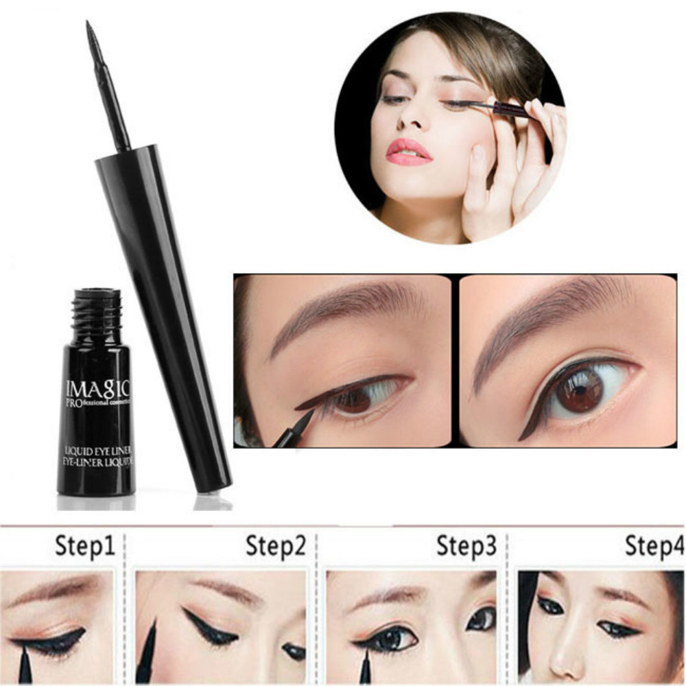 Imagic Liquid Eyeliner Professional Lasting No Smudge Eye Makeup