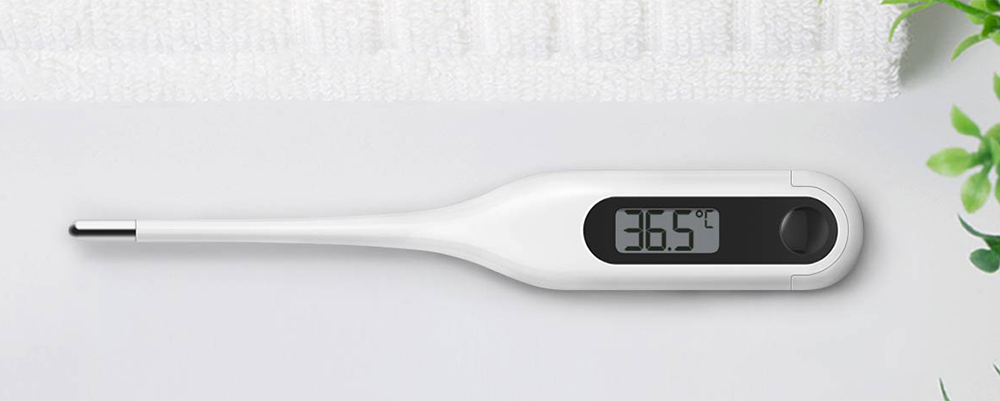 Xiaomi MMC - W201 Dual-purpose Portable LCD Medical Electronic Thermometer- White