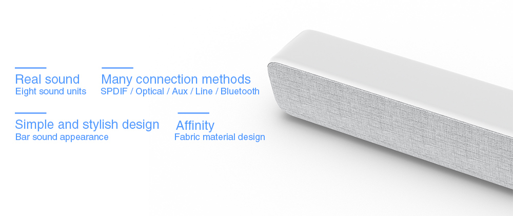 Xiaomi Bar Shaped Bluetooth Speaker