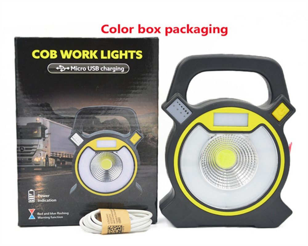 COB Outdoor Emergency Camping Tent Light Home Small Night Table Lamp