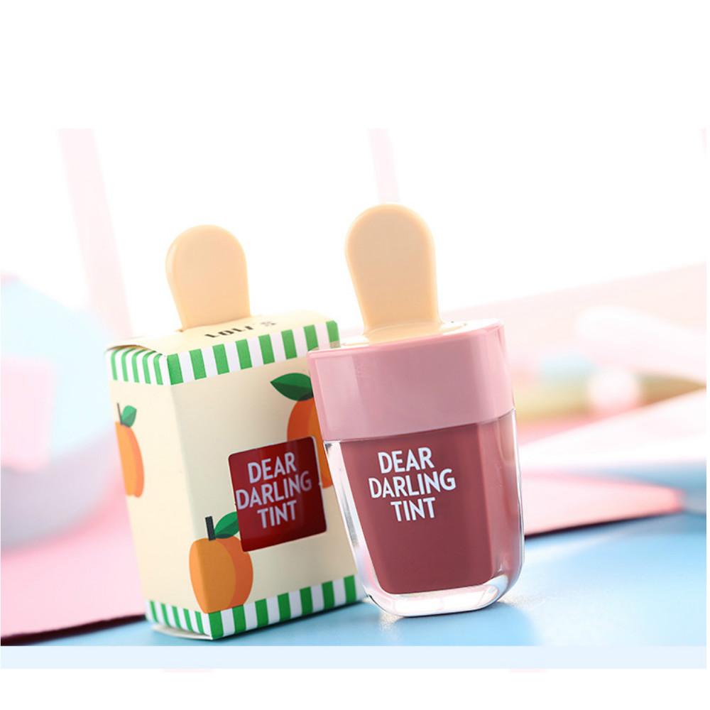 Ice Cream Long-Lasting Lip Tint 5 Colors Liquid Lipstick
