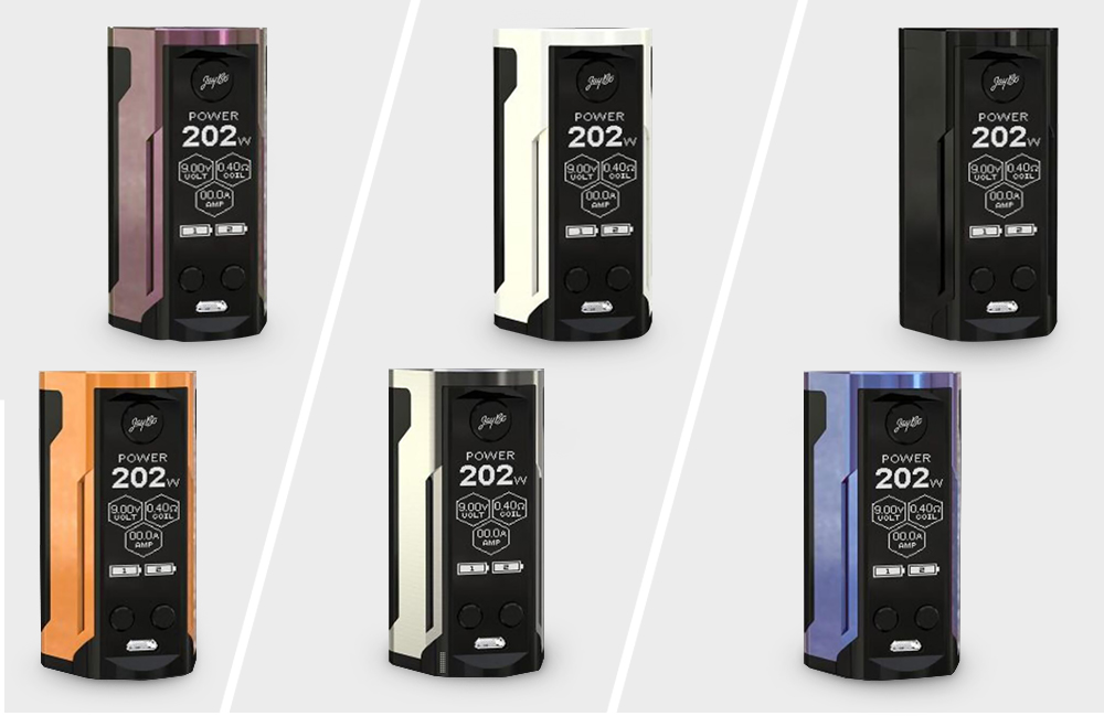 WISMEC Reuleaux RX GEN3 Dual 230W TC Box Mod 6 Colors Available