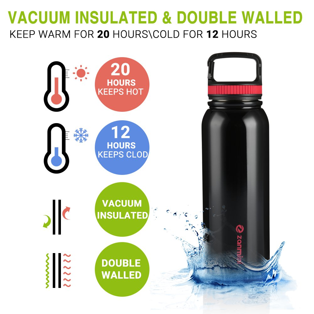 zanmini BZ12 - 1000 Multifunctional Sport Water Bottle 1000ML