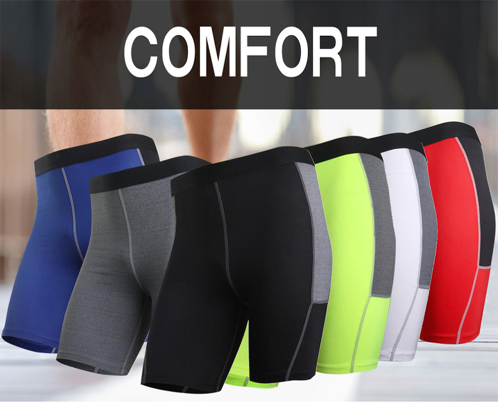 Men'S Gym Leggings Athletic Football Clothing Running Shorts