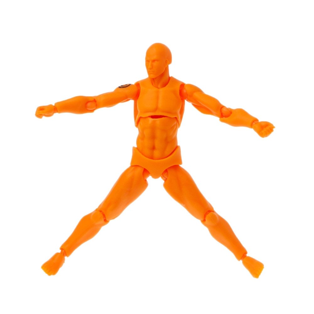 13cm Action Figure Doll Toy- Yellow
