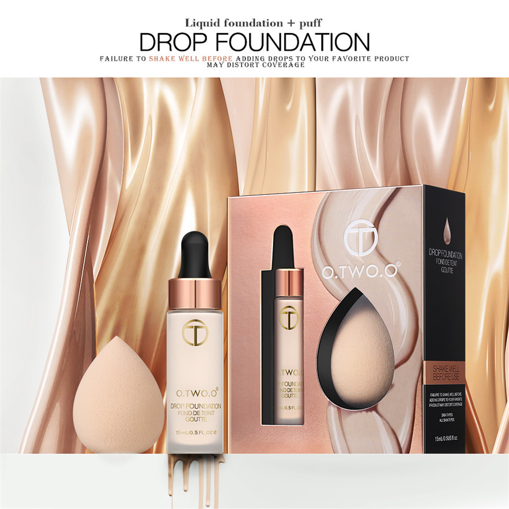 O.TWO.O Foundation Set with Puff