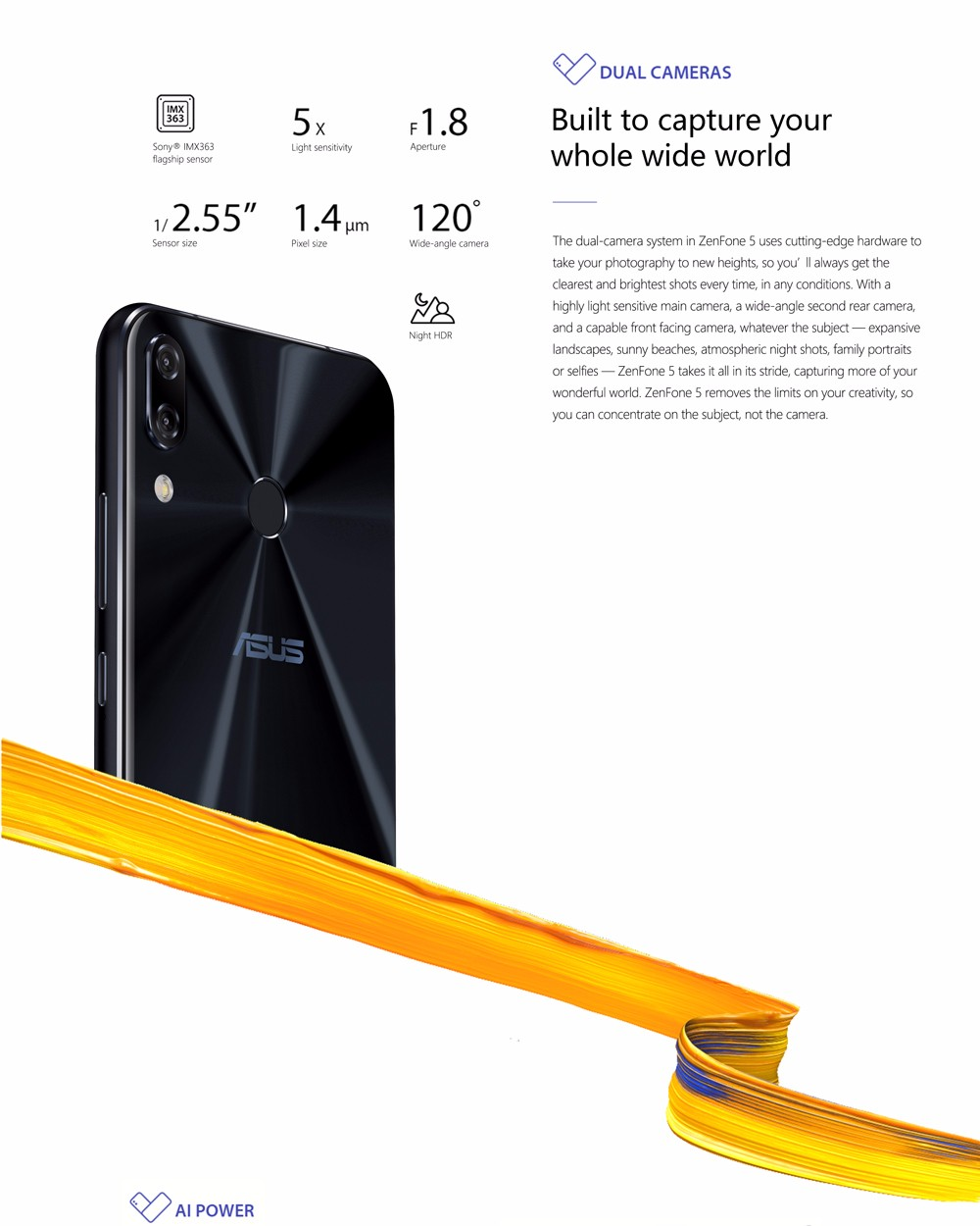 Asus zenfone 5 ze620kl 4g phablet global version 36999 free 4gb ram 64gb rom fingerprint scanner type c bluetooth 50 black fandeluxe Image collections