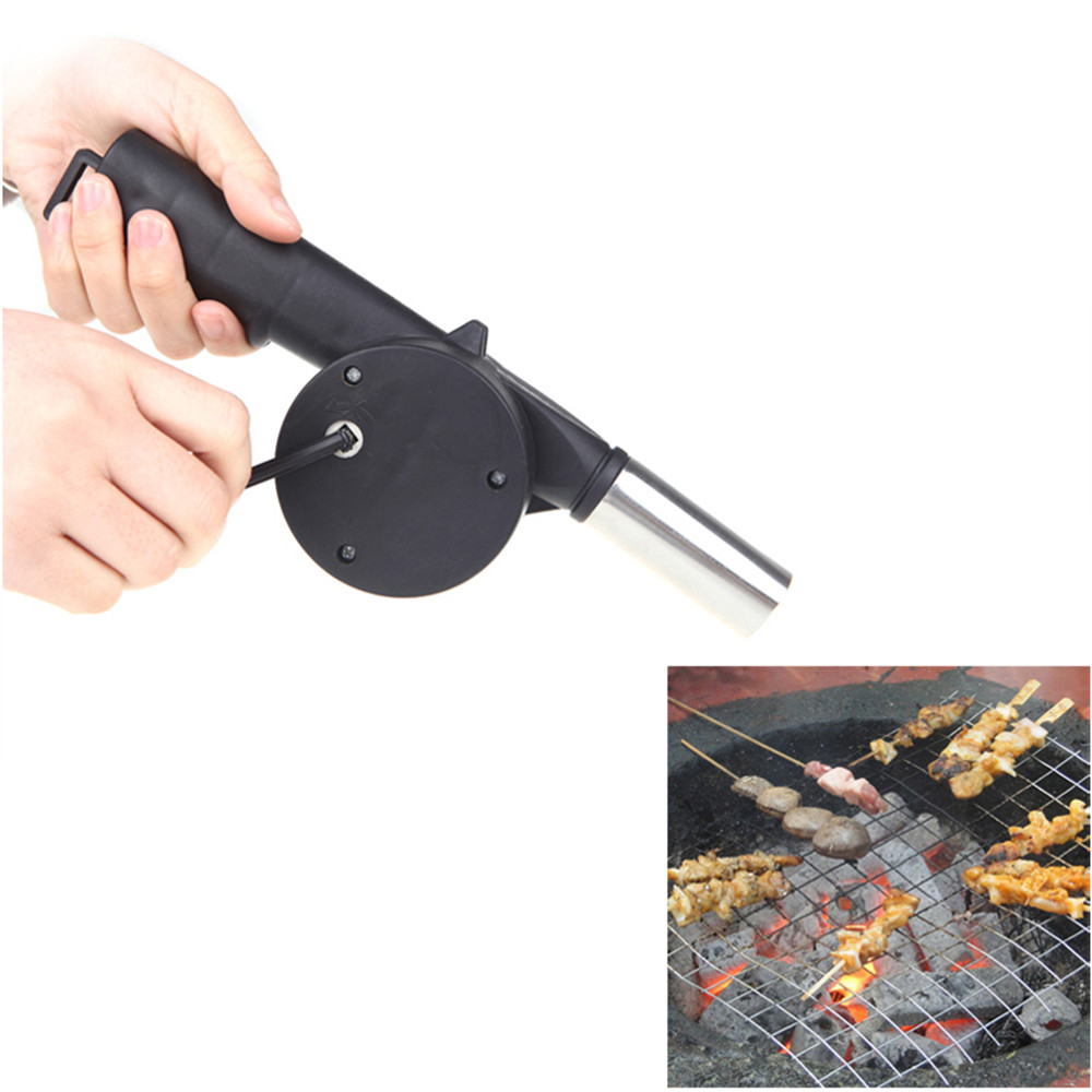 Portable Manual Blower for Outdoor Barbecue