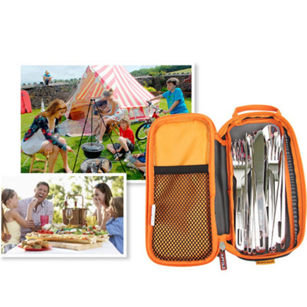 Outdoor Picnic Portable Tableware Barbecue Bag