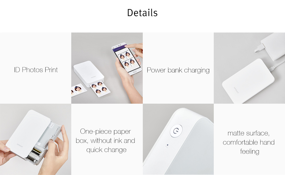 Xiaomi Portable Bluetooth AR Phone Photo Printer Arrives At Gearbest For $180.41