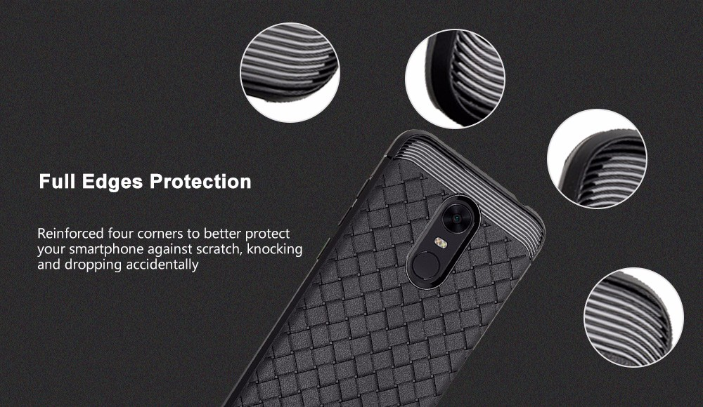 Luanke TPU Shatter-resistant Phone Case for Xiaomi Redmi 5 Plus