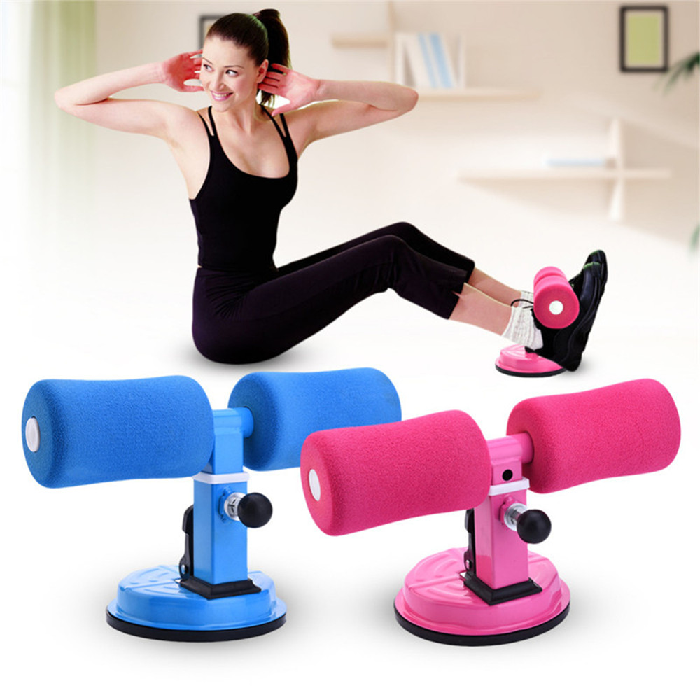 Portable Sit-ups Fitness Equipment with Sucker for Bodybuilding Slimming  Training