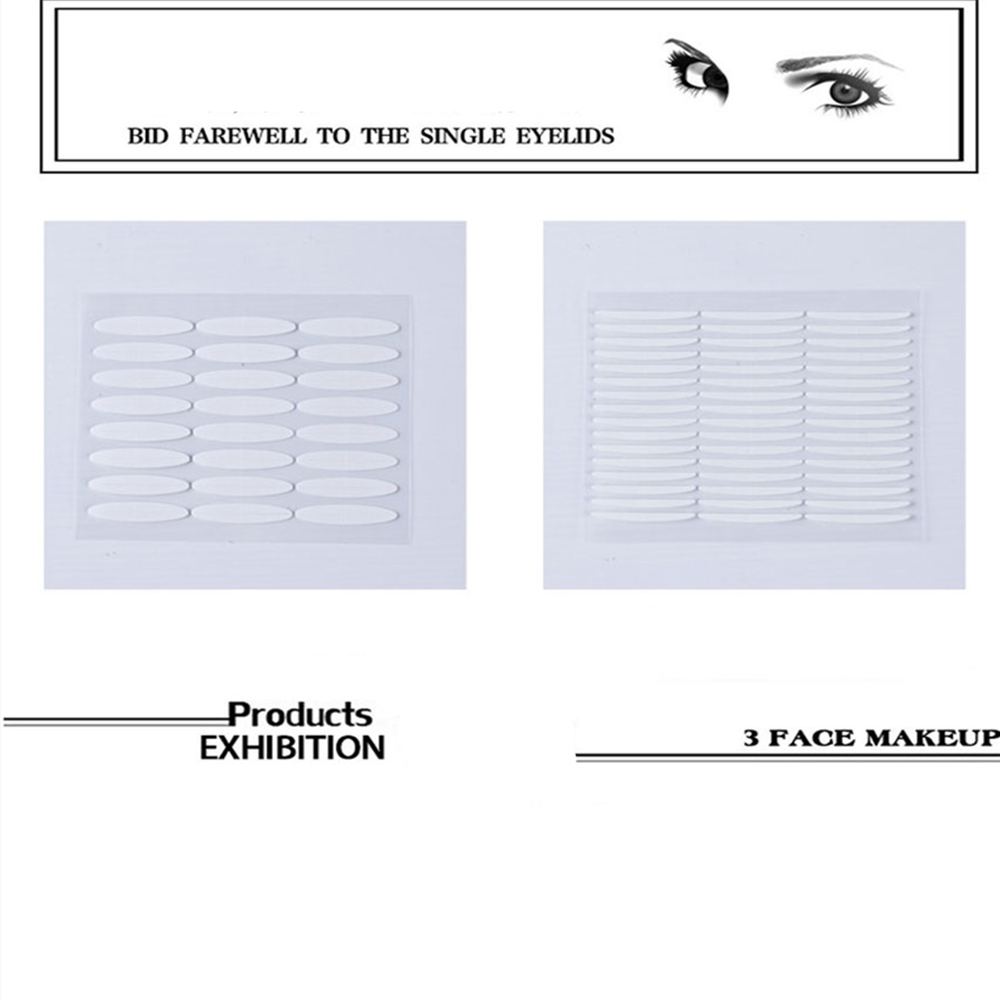 Invisible Double Eyelid Sticking To Create A Personality with One Second 72  Pcs