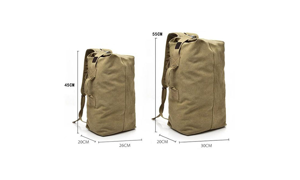 Multifunctional Waterproof L Size Backpack for Traveling Hiking