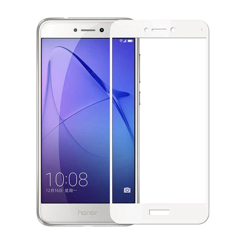 Tempered Glass Screen Protector Full Coverage for Huawei P9 Lite 2017- Black