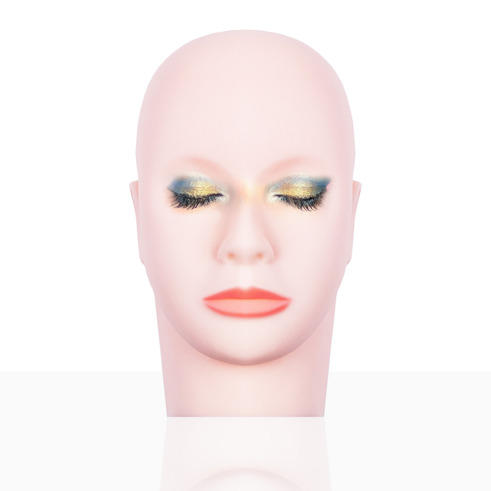 Massage Training Mannequin Flat Head Practice Make Up Model Eyelash Extensions