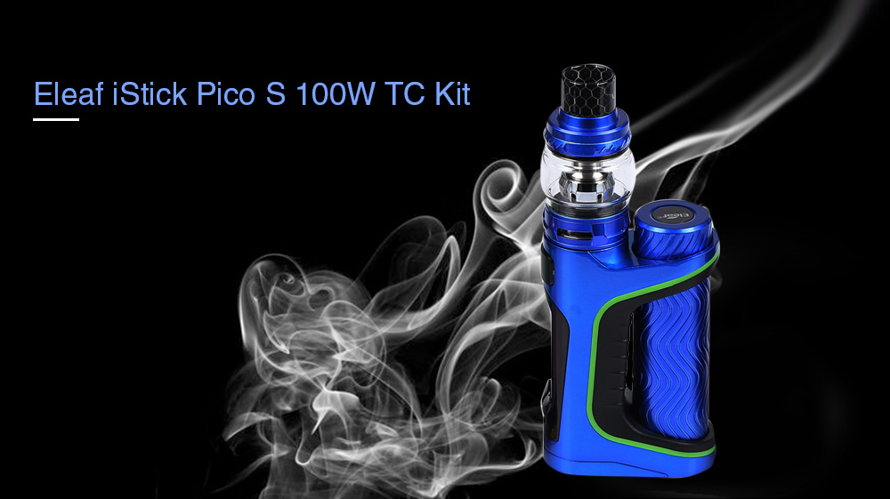 Eleaf iStick Pico S 100W TC Kit with 200 - 600F / 6.5ml for E Cigarette
