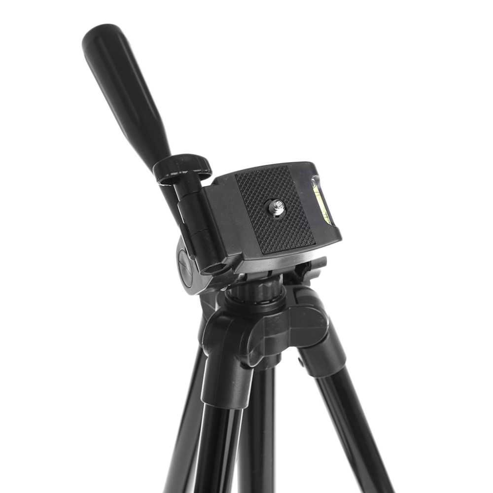 3120 Tripod Stand 4-section Lightweight Portable Aluminum Mini Trip- Black