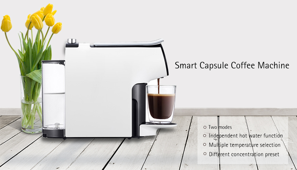 Smart Energy-saving Automatic Capsule Coffee Machine