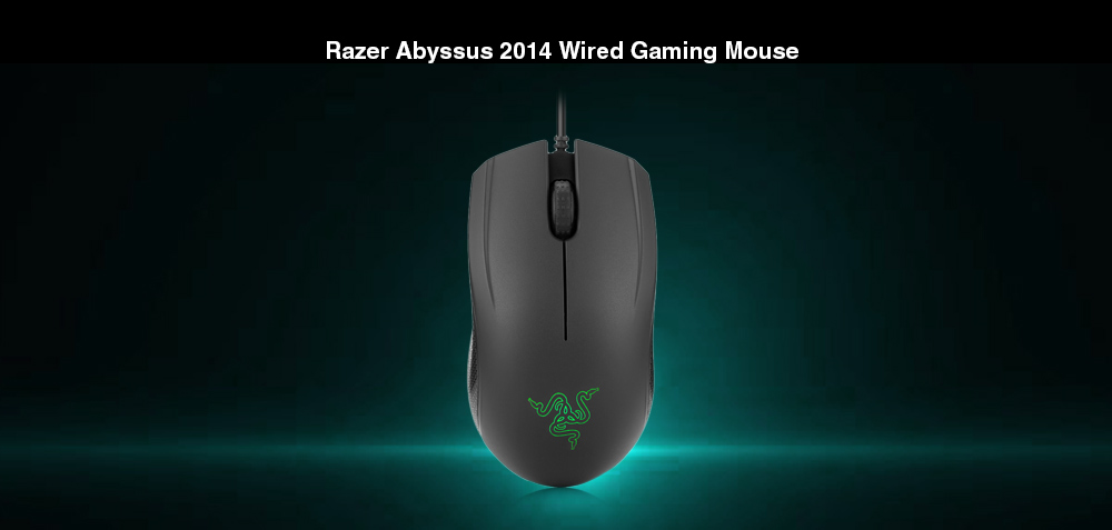85b423ba7bb Razer Abyssus 2014 Wired Gaming Mouse 3500DPI- Black