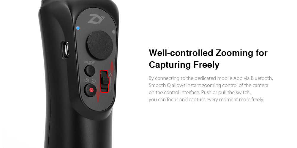 Zhiyun Smooth Q 3-axis Stabilization Gimbal for Gopro 16