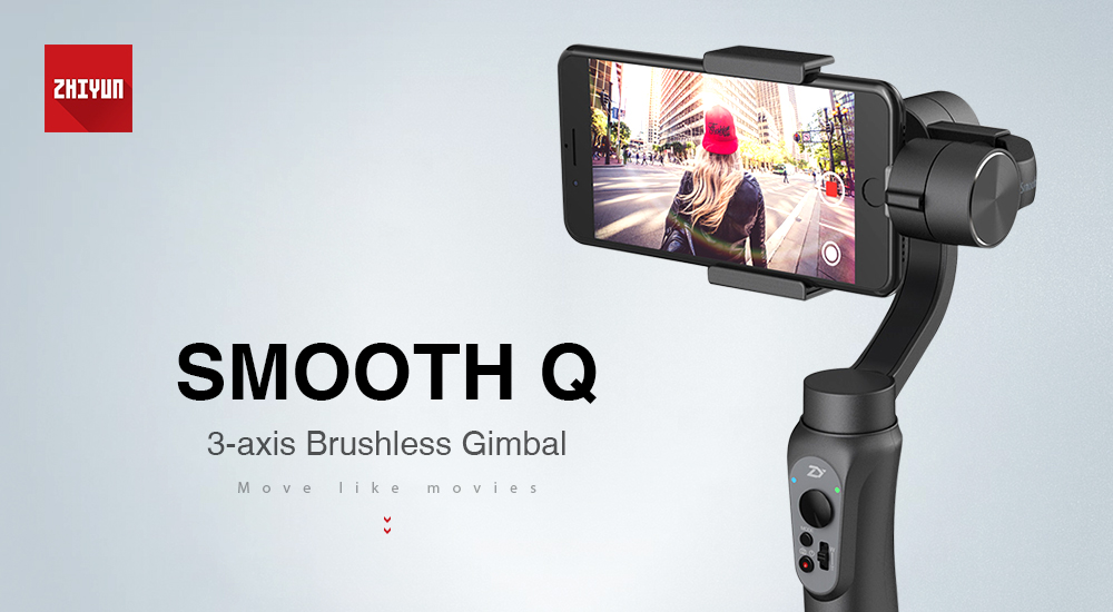 Zhiyun Smooth Q 3-axis Stabilization Gimbal is our favorite gimbal, offered at $70 now