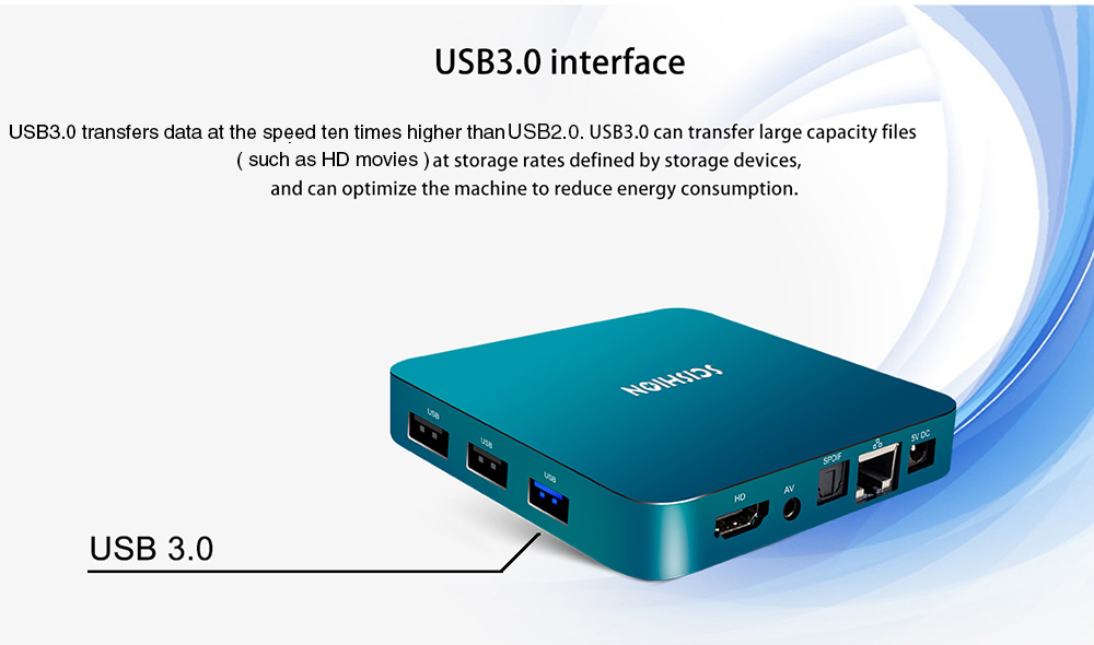 Scishion Ai One Android 81 Tv Box 4933 Free Shippinggearbestcom