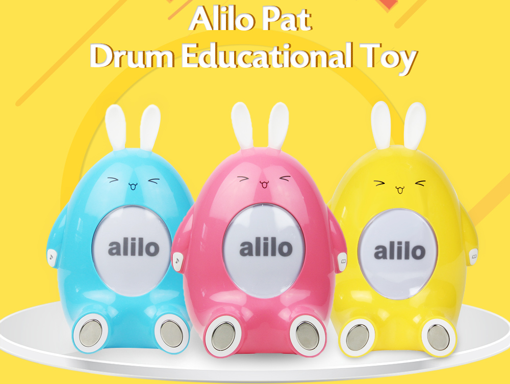 Alilo Interactive Pat Drum Early Educational Toy for Kids