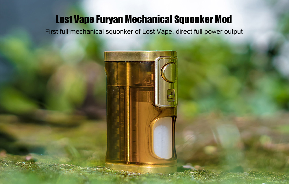 Lost Vape Furyan Mechanical Squonker Mod with 9ml E-juice Bottle / 0.1 - 1 ohm for E Cigarette